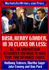Bush, Kerry, and Nader in 30 clicks or less